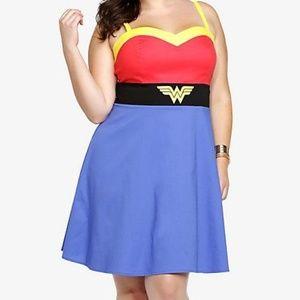 DC Comics Wonder Woman Cosplay Dress Vintage Retro